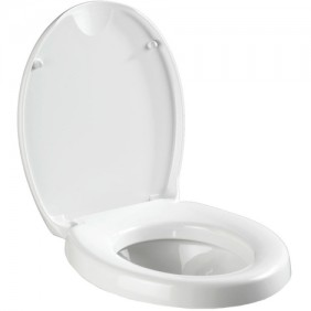 Abattant WC - Secura - Réhausseur - Easy-Close WENKO
