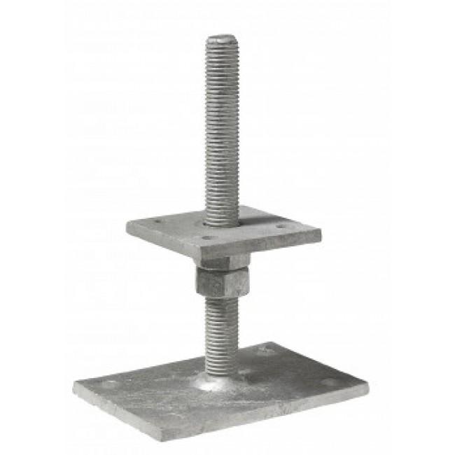 Pied de poteau réglable 40 à 100 mm - PB40605 SIMPSON Strong-Tie