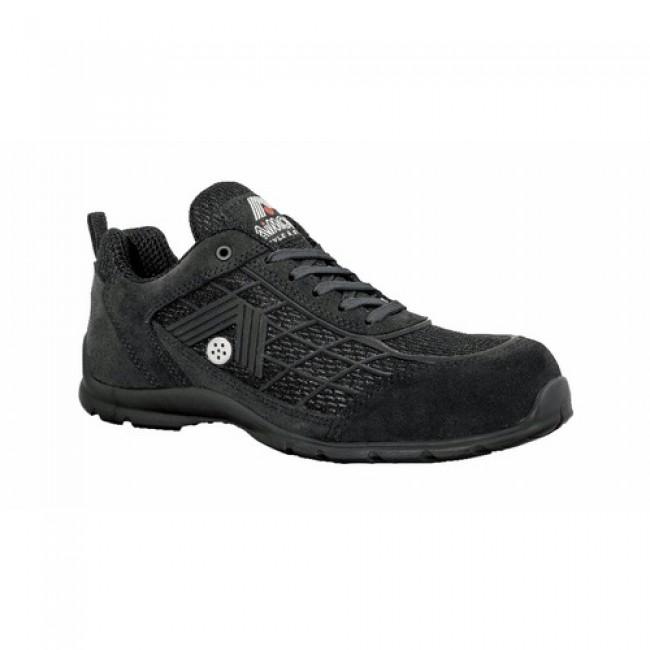 Chaussures de sécurité basses Air Force Black S1P SRC AIMONT BY JALLATTE