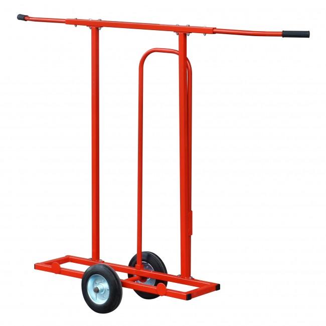 Chariot pour plaques de plâtre et panneaux - Capacité de charge 200kg OUTIFRANCE