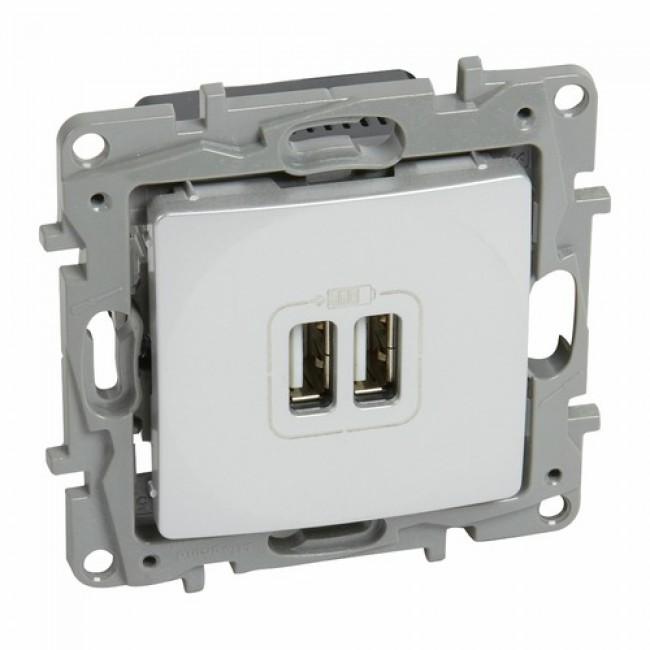 Prise chargeur - double USB - Niloé LEGRAND