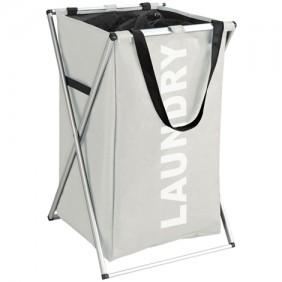 Panier à linge - Laundry - Tissu polyester - 52 litres WENKO