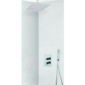 Colonne de douche encastrable plafond LOCK 50 avec mitigeur COSENZA SARODIS