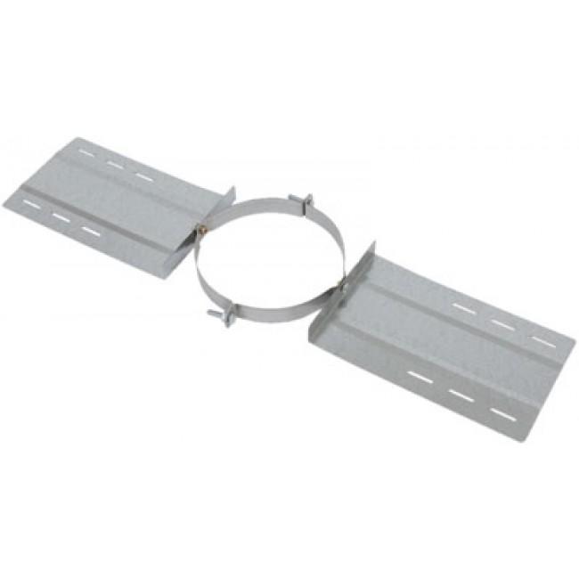 Support au toit galva pour conduit double paroi Opsinox TEN