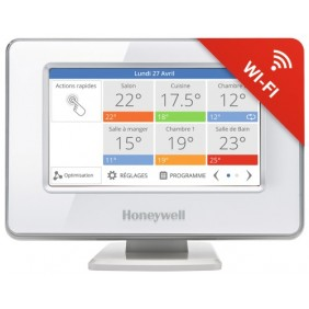 Centrale de régulation multizone - Wi-Fi - connectée - Evohome HONEYWELL
