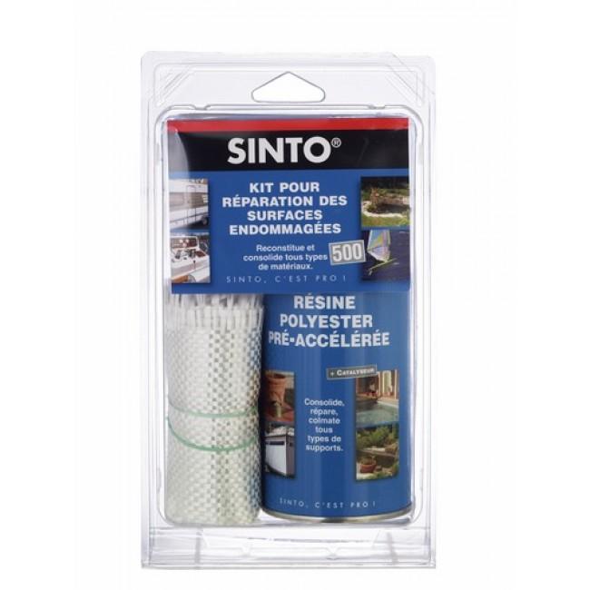 Résine polyester - pour réparer et consolider - multi-supports SINTO
