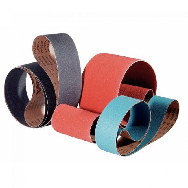 Abrasifs en bandes standards toile rigide corindon KK 711 X/Y VSM