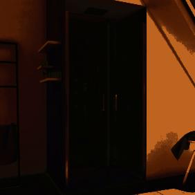 Paroi de douche - Saloon - profilés chromés AURLANE