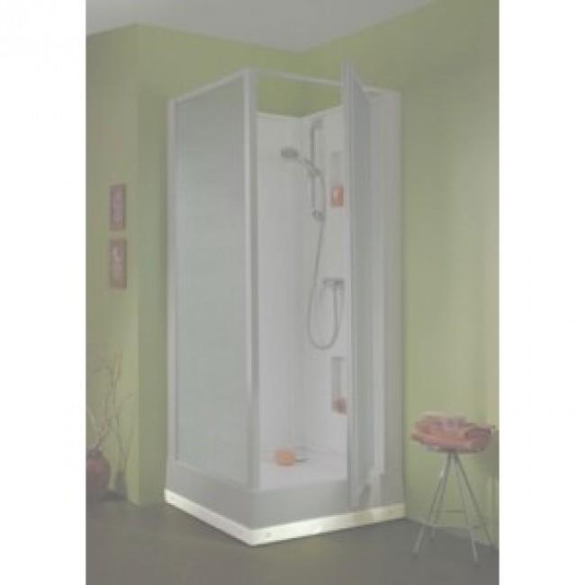 Kit pour cabine de douche suf  - Réhausse - Pieds + tablier LEDA