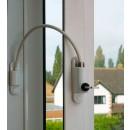 Entrebâilleur à câble et clé pour fenêtre ou porte fenêtre BRICOZOR
