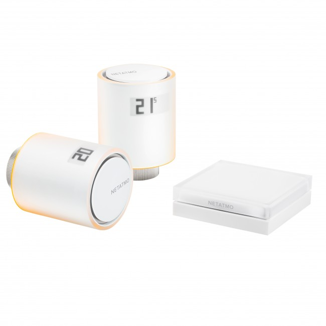 Pack starter - têtes thermostatiques intelligentes - Netatmo LEGRAND