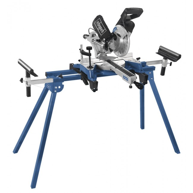 Scie à onglet radiale 1500W HM80DB + support UMF1550 SCHEPPACH