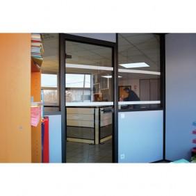Rubans adhésifs blancs pour repérage des surfaces vitrées WATTELEZ