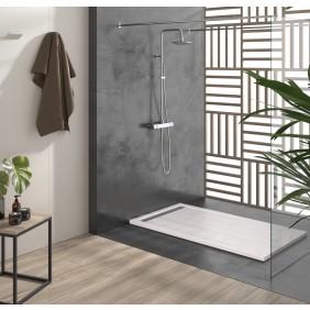 Receveur de douche en résine - Blanc - Différentes dimensions - Cach DUPLACH