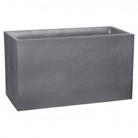 Muret - gris galet - contenance 116 L - Volcania 13732 EDA PLASTIQUES