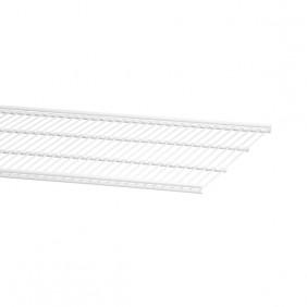 Étagère fil en acier pour système de crémaillère suspendue ELFA