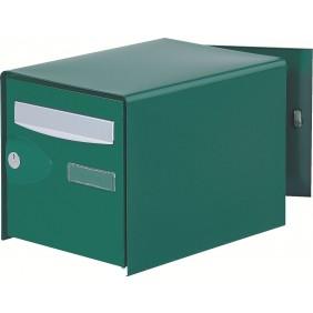 Boîte aux lettres Probox simple face, vert DECAYEUX