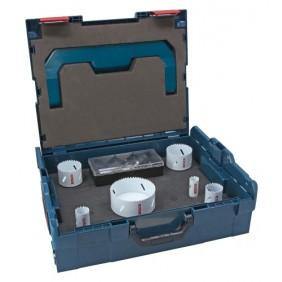 Coffret 6 scies trépans Progressor - mallette L-Boxx - bois et métal BOSCH