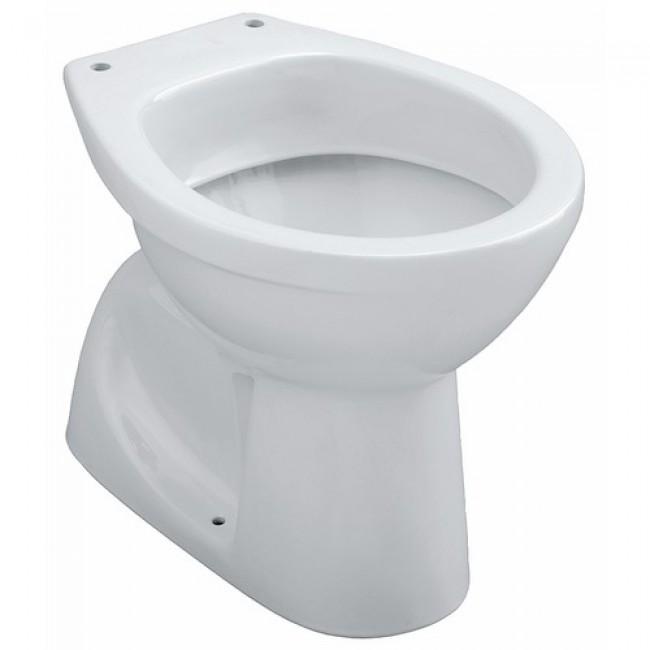 Cuvette wc au sol sortie verticale - alimentation indépendante - Publica ALLIA