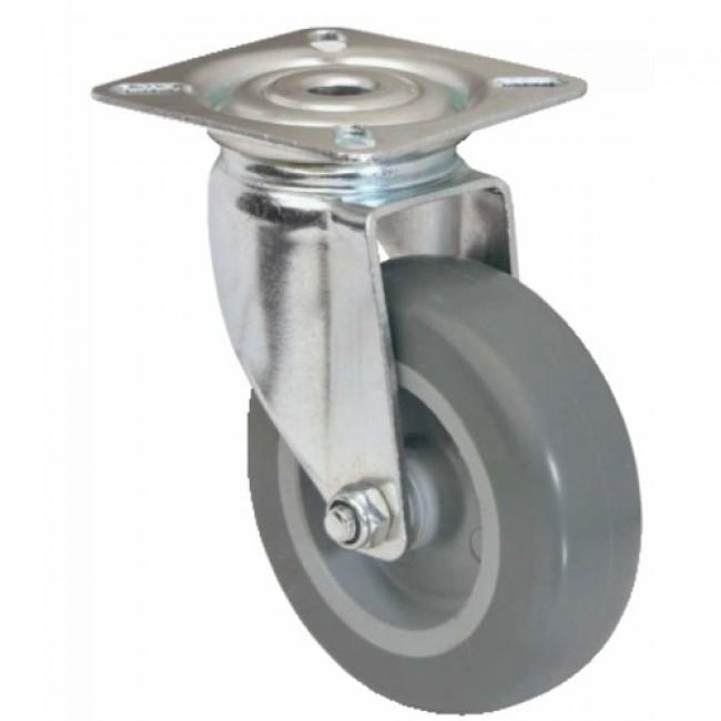 Roulette pivotante sur platine - 1470 PAO TENTE