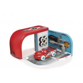 Set garage + Flash McQueen à construire - Ice Customiz Box Cars SMOBY