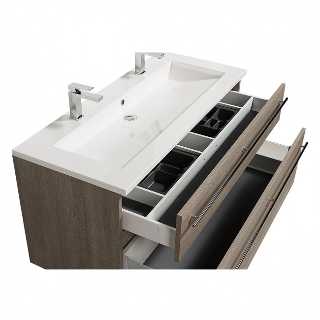 Meuble de salle de bains - Maîa - 120 cm - 3 finitions BATHDESIGN