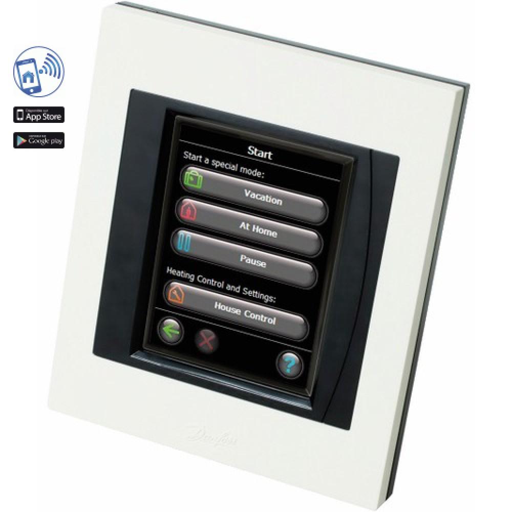 r gulation de chauffage central sans fil wifi danfoss link cc danfoss bricozor. Black Bedroom Furniture Sets. Home Design Ideas