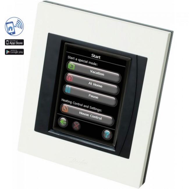 Régulation de chauffage central sans fil - wifi - Danfoss Link CC DANFOSS