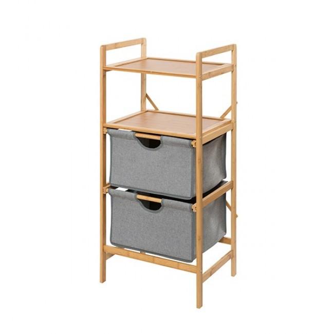 Étagère - Bahari - 2 ou 3 tiroirs - Bambou WENKO