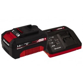 Batterie et chargeur - power x change - 3 Ah - 18 volts EINHELL