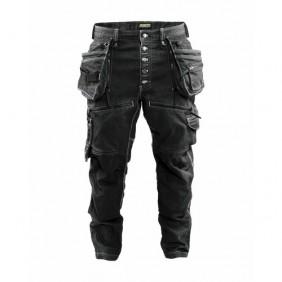 Pantalon de travail Cordura® Denim stretch noir - X1900 BLAKLADER