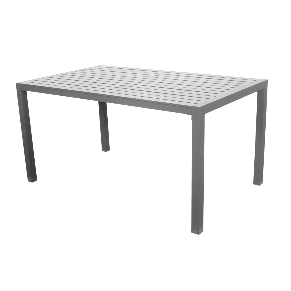 Table de jardin aluminium - 150 x 90 cm - Sarana 150 INDOOR OUTDOOR