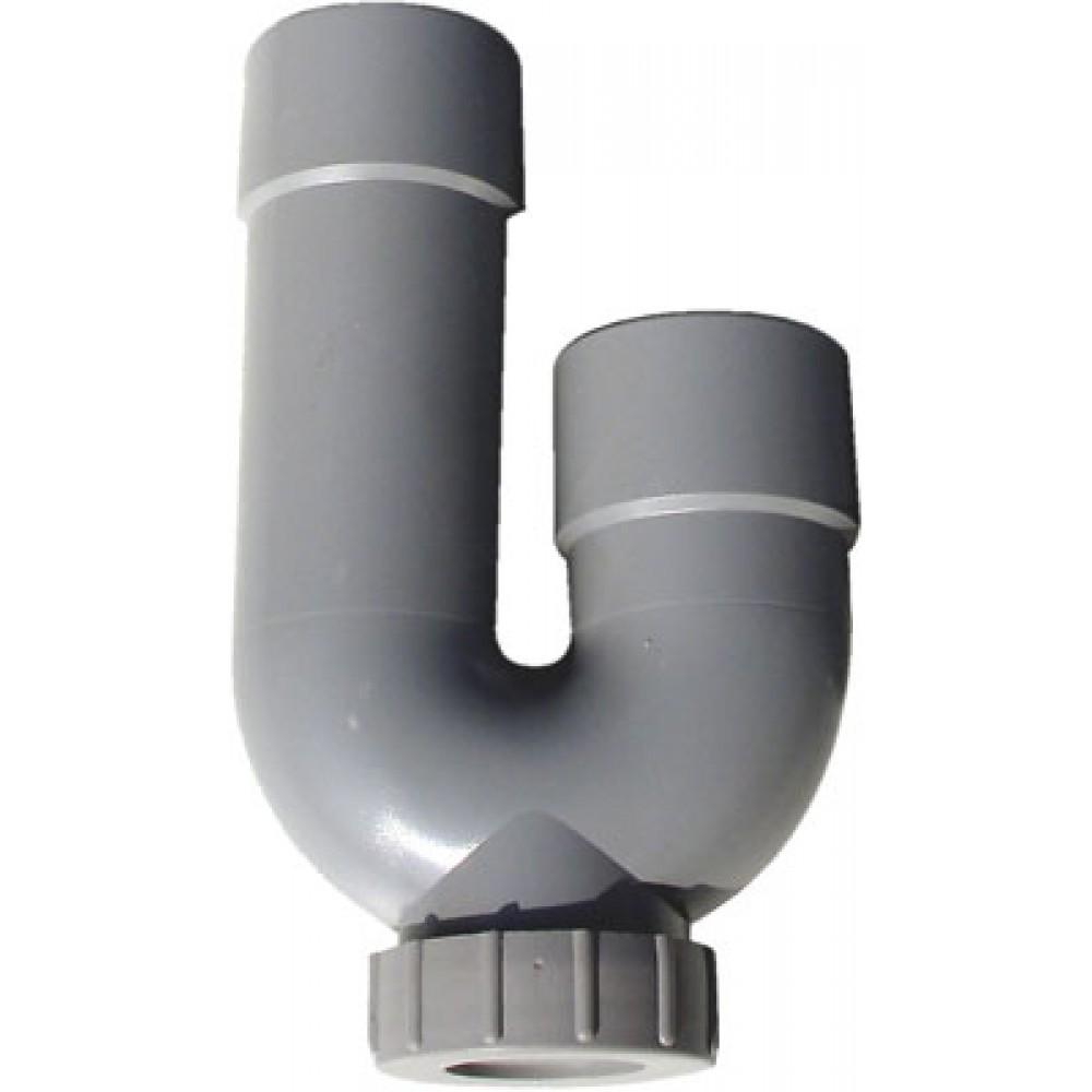 coude seul pour siphon machine laver 40 mm bricozor. Black Bedroom Furniture Sets. Home Design Ideas