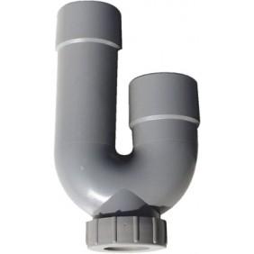 Coude seul pour siphon machine à laver Ø 40 mm