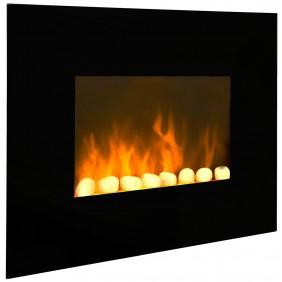 Cheminée décorative - Black Fire - 2000 W CHEMIN' ARTE