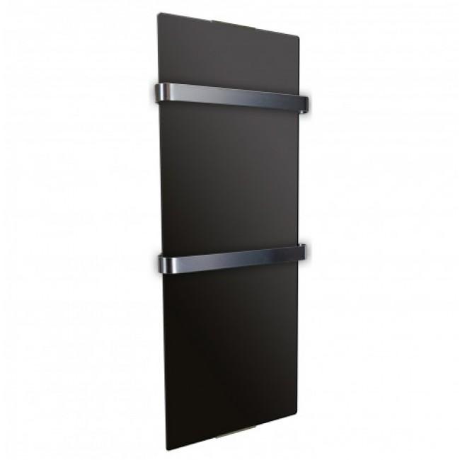 Radiateur sèche serviette - design - 600W ou 1200W- Noir CHEMIN' ARTE