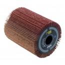 Brosse à lamelles abrasives - pour rénovateur REX 80 - 80x100 mm FARTOOLS