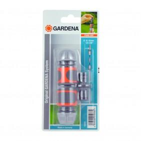 Nécessaire de connexion de tuyau 2 raccords+connecteur 15 mm– 18283-20 GARDENA