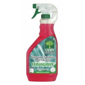 Nettoyant sanitaire anticalcaire écologique ARBRE VERT