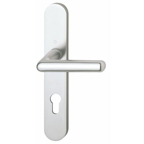 Poignées de porte aluminium Cortina argent