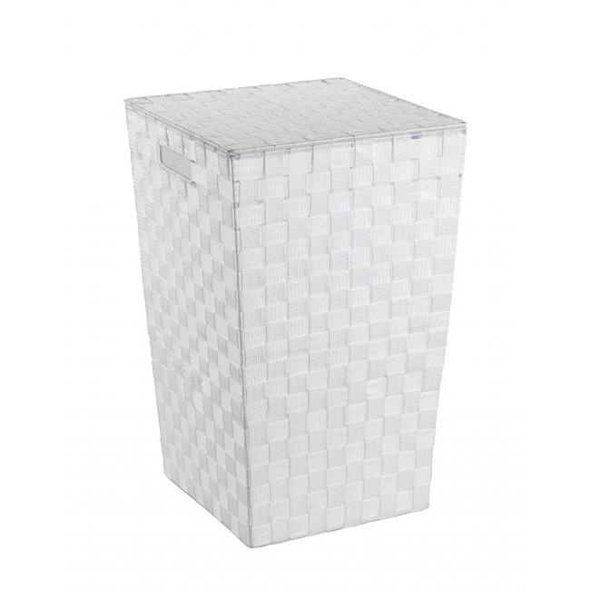 Panier à linge - Adria - Plastique tressé - Carré - 48 L WENKO