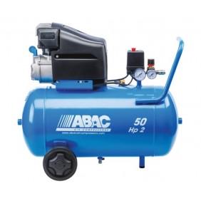 Compresseur d'air à piston lubrifié - 50 litres 2 CV - Monte Carlo L20 ABAC