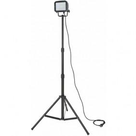 Projecteur de chantier - sur pied télescopique - 28 Led SMD BRENNENSTUHL
