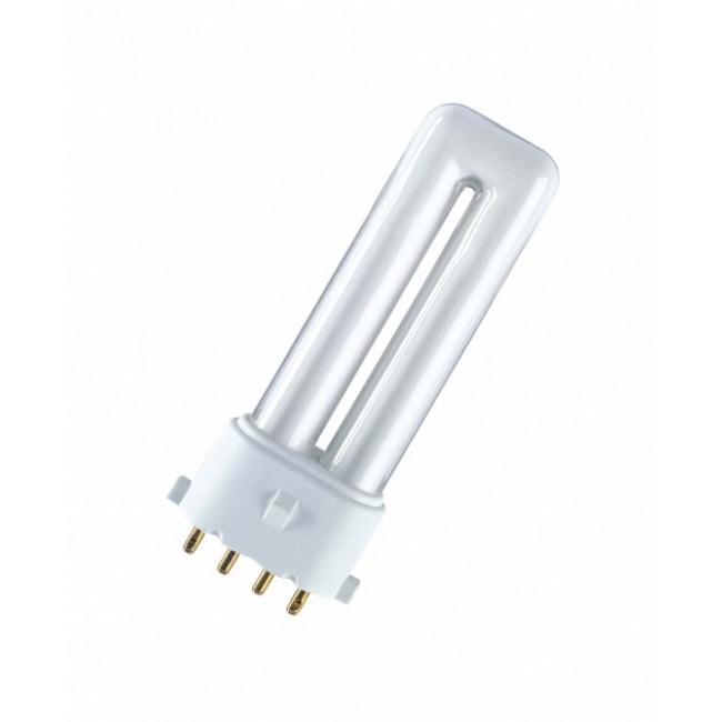 Lampe fluocompacte Dulux S/E - dimmable - culot 2G7