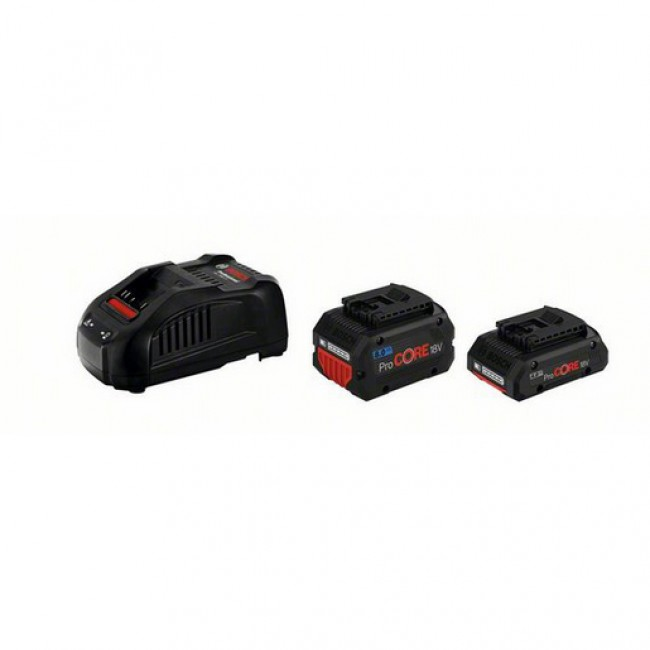 Batterie ProCORE 18 Volts 4.0Ah et 8.0Ah + chargeur - 1600A01BA8 BOSCH