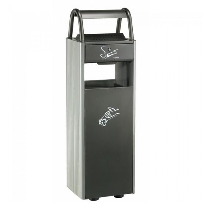 Cendrier poubelle extérieur à poser ROSSIGNOL