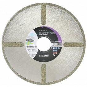 Disque diamant - jante continue - verre faïence PVC - Cutting Glass SIDAMO