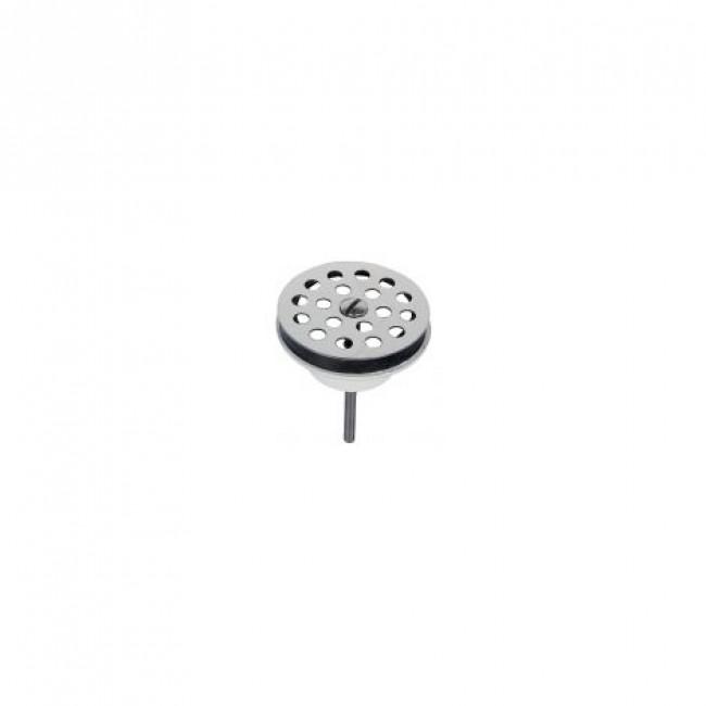 Bonde de lavabo - grille inox - diamètre 63mm VALENTIN