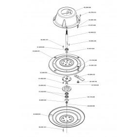 Pièces détachées pour faucheuse rotative P70 EUROSYSTEMS