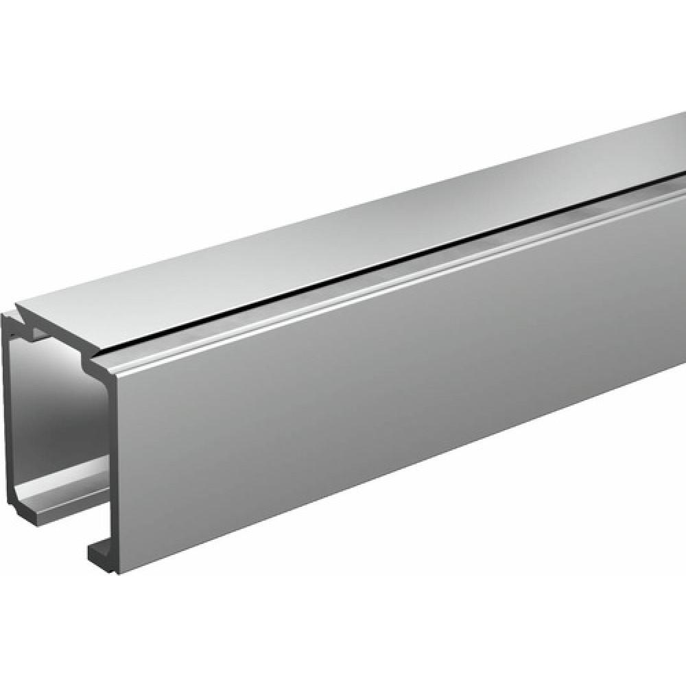 Rail haut pour porte coulissante saf 40 et saf 80 mantion for Rail pour vitre coulissante